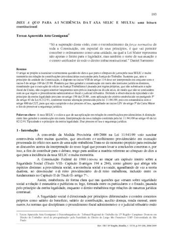 Artigo 165 cf